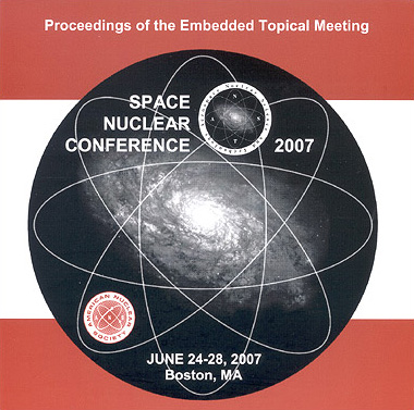 Space Nuclear Conference 2007