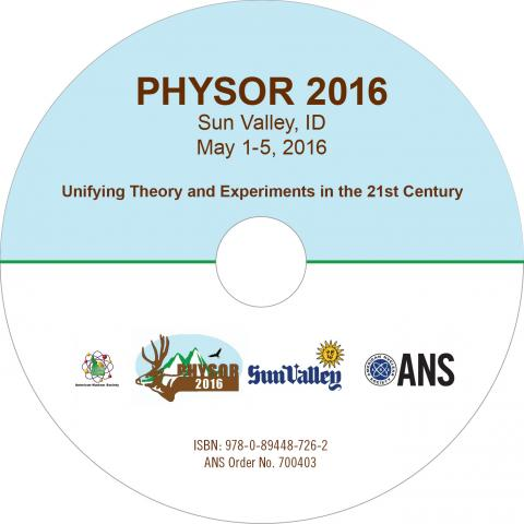 PHYSOR 2016: Unifying Theory and Experiments in the 21st Century