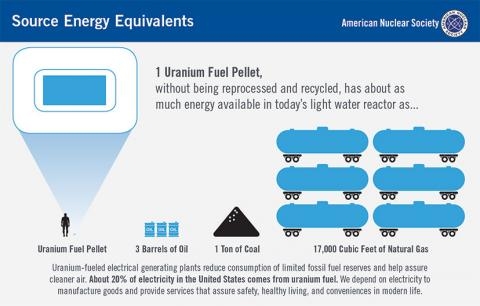 Source Energy Equivalents Pellet