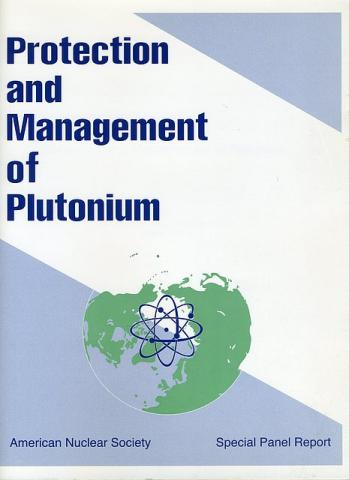 Special Report on the Protection and Management of Plutonium