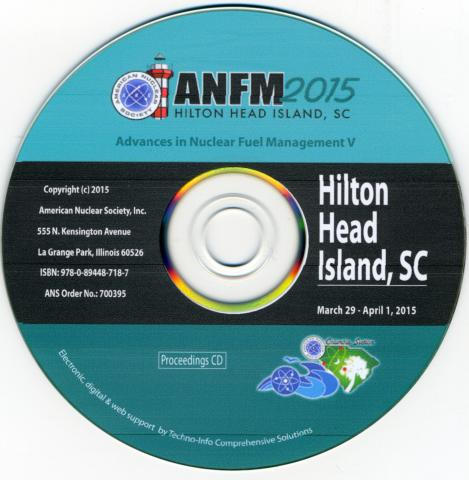 Advances in Nuclear Fuel Management V (ANFM 2015)