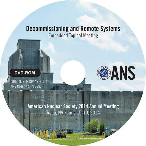 Decommissioning and Remote Systems (D&RS 2014)