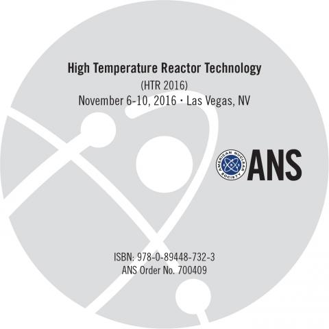 2016 International Topical Meeting on High Temperature Reactor Technology (HTR 2016)