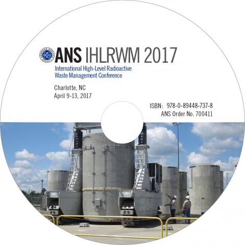 16th International High-Level Radioactive Waste Management Conference (IHLRWM 2017)