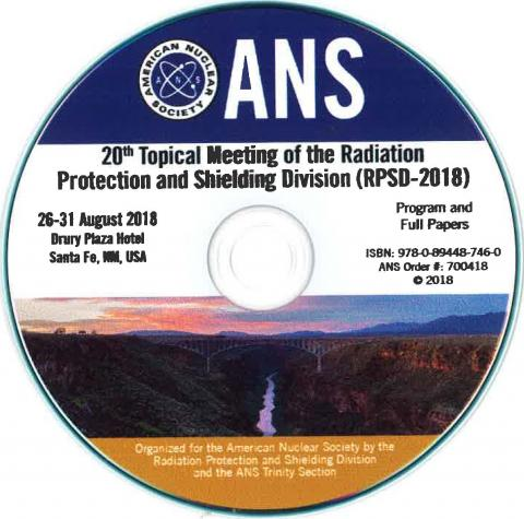 Radiation Protection and Shielding Division 20th Topical Meeting