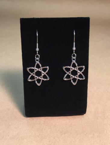 Atom Pierced Earrings