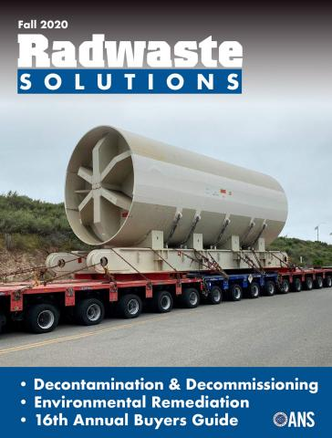 Radwaste Solutions Buyers Guide 2020